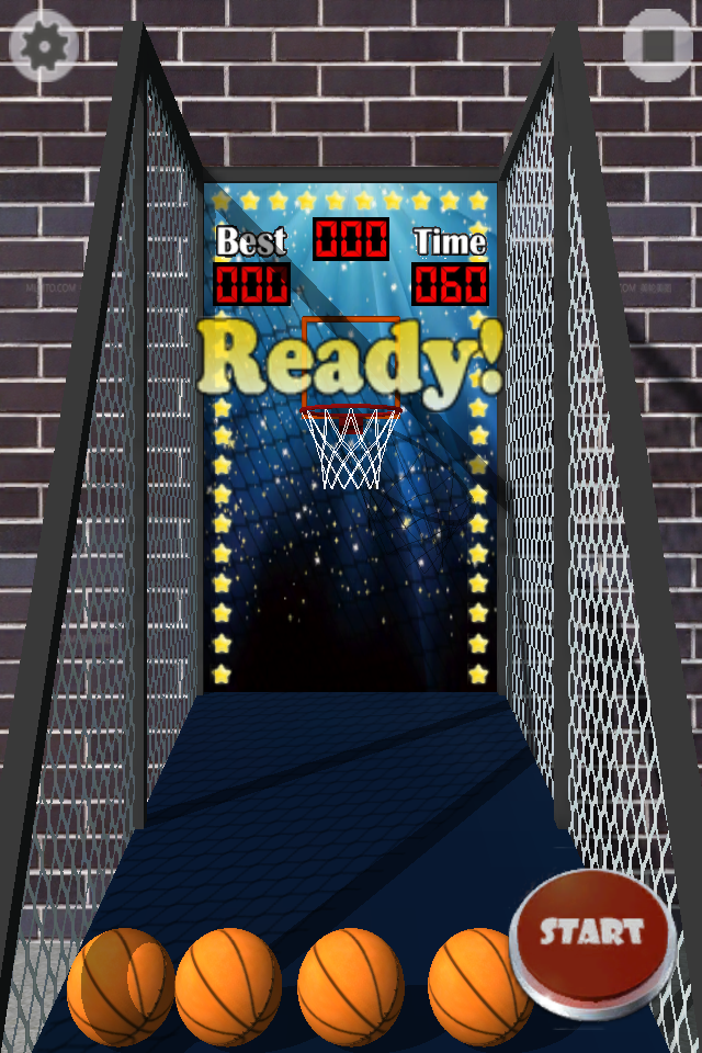 Screenshot 3D Basket