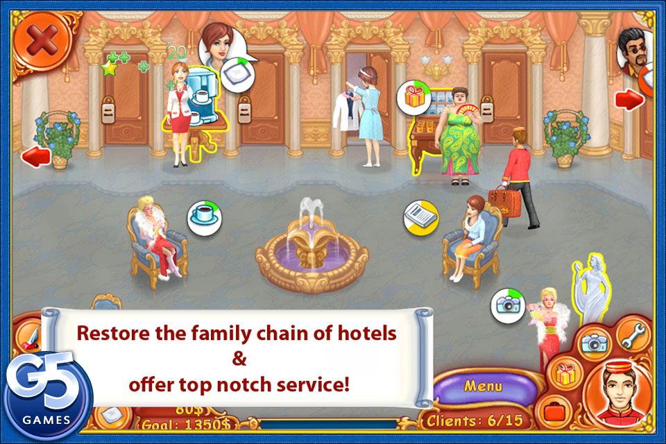 Screenshot Jane's Hotel 2: Family Hero Full