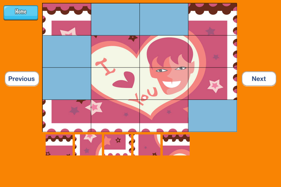 Screenshot 14 Love Puzzles Free